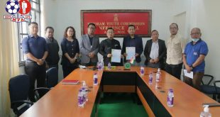 Mizoram Football Association to collaborate with Mizoram Youth Commission!