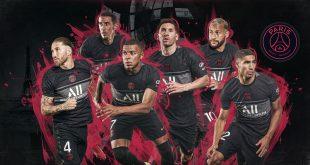 Nike & Paris Saint-Germain launch a striking new third kit!
