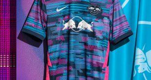 Nike 2021/22 third kit of RB Leipzig brings the Magic of European Nights!