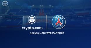 CRYPTO.COM becomes Paris Saint-Germain official cryptocurrency platform!
