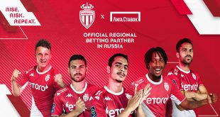 Liga Stavok becomes official sports betting partner of AS Monaco in Russia!