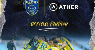 Kerala Blasters retain Ather Energy as official ISL-8 partner!