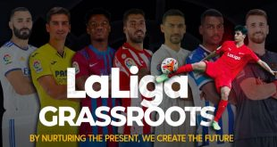 LaLiga Grassroots to support and promote grassroots football around the world!