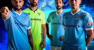 Binance becomes main jersey sponsor of Lazio Roma!