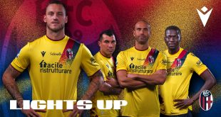 Ignite your passion a step back in time for Bologna FC's Macron-made third kit!