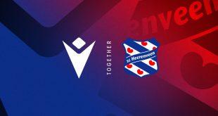 Macron new technical sponsors of Dutch side SC Heerenveen!