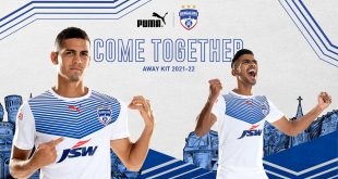 VIDEO: New Bengaluru FC 2021/22 away kit by PUMA launched!
