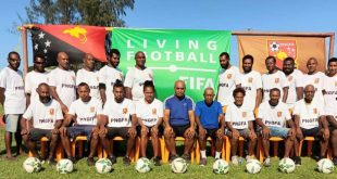 Papua New Guinea grassroots & youth coaching courses locked in!