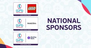 The LEGO Group, Pandora & Starling Bank to partner with 2022 UEFA Women's EURO – England!